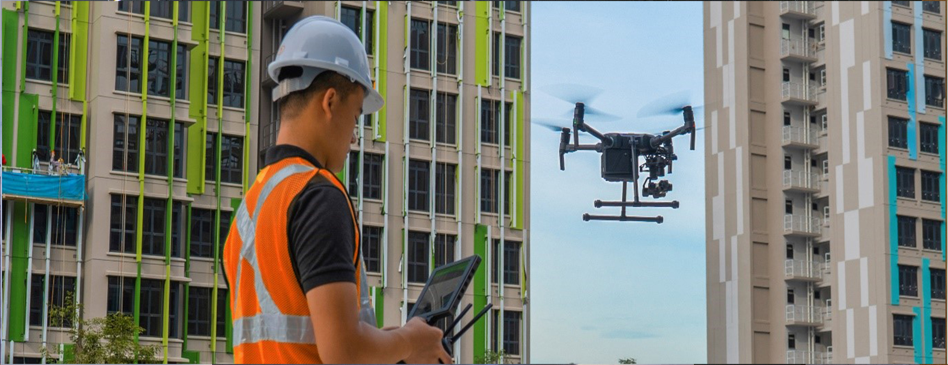 drone company singapore providing professional solution for building inspection