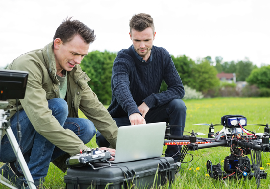 drone course singapore has professional and practical drones post-processing data training